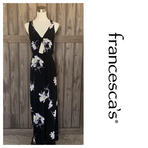 Francesca's Collections Dresses & Skirts - Francesca's Birdcage Label Maxi Dress Floral (S)